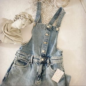 Free People Shelby Overalls